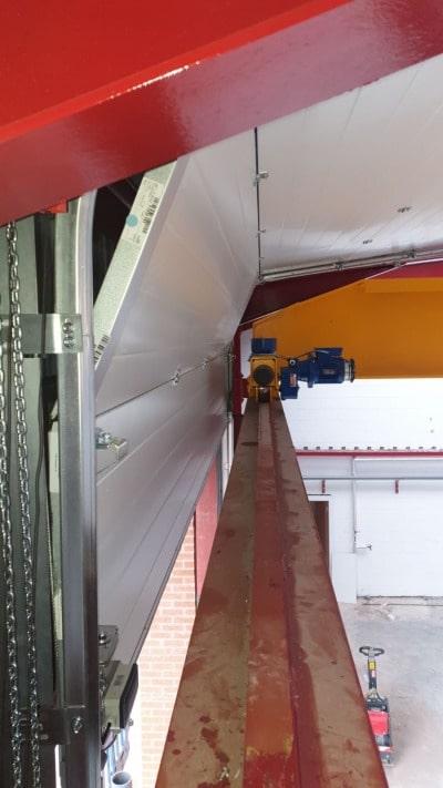 Roller Shutter Doors Installation